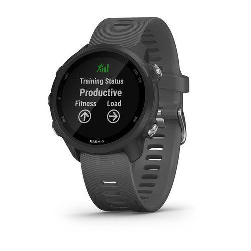 Monitor cardíaco de pulso com GPS Garmin Forerunner 245 sem Música