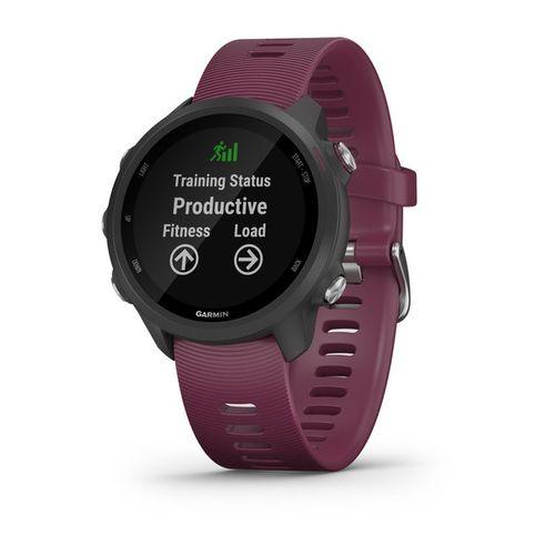 Relógio Garmin Forerunner 245 sem Música com Monitor Cardíaco de Pulso e GPS