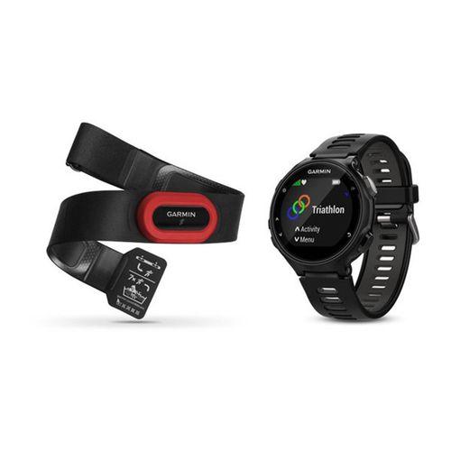 Monitor cardíaco de pulso com GPS Garmin Forerunner 735 Bundle