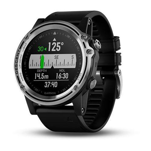 Smartwatch de Mergulho com GPS Garmin, Mapeamento TOPO Colorido e Recursos Multiesporte Descent Preto