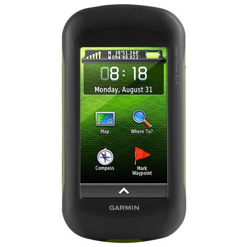 GPS Portátil Garmin Montana 610 GPS/GLONASS com Imagens de Satélite BirdsEye de 1 Ano