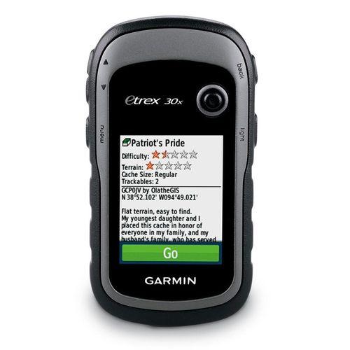 """GPS Portátil Garmin eTrex30x GPS/GLONASS, Tela de 2,2"""", Bússola de 3 Eixos, Memória Incorporada e Sensores Embutidos"""