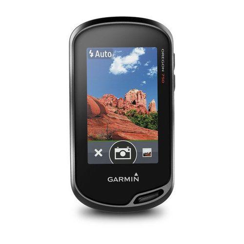 """GPS Portátil Garmin Oregon 750 GPS/GLONASS com Visor Colorido de 3"""", Câmera 8MP, Wi-Fi Integrado, TouchScreen"""
