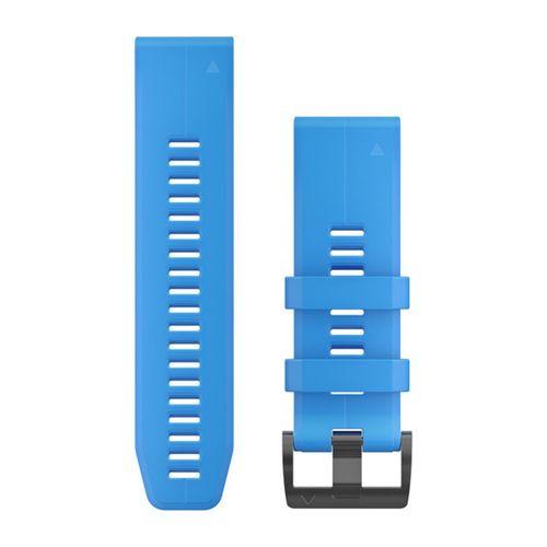 Pulseira Garmin QuickFit 26 Fênix 3/3HR/5X/5XPlus/6X, Descent, Quatix 3, Slicone
