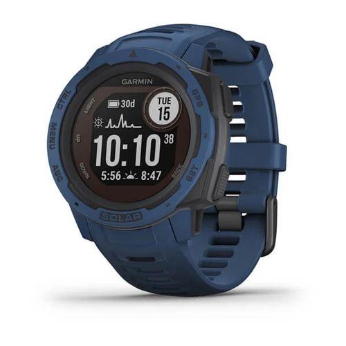 Relógio Garmin Instinct Solar com Monitor Cardíaco de Pulso e GPS