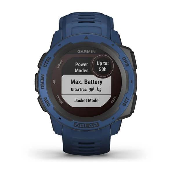Monitor-Cardiaco-de-Pulso-com-GPS-Garmin-Instinct-Solar-Azul-Tidal-WW--5-