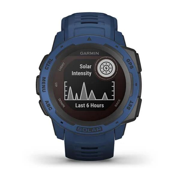 Monitor-Cardiaco-de-Pulso-com-GPS-Garmin-Instinct-Solar-Azul-Tidal-WW--10-