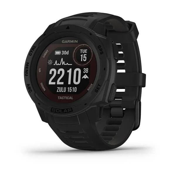 Monitor-Cardiaco-de-Pulso-com-GPS-Garmin-Instinct-Solar-Preto-WW--1-