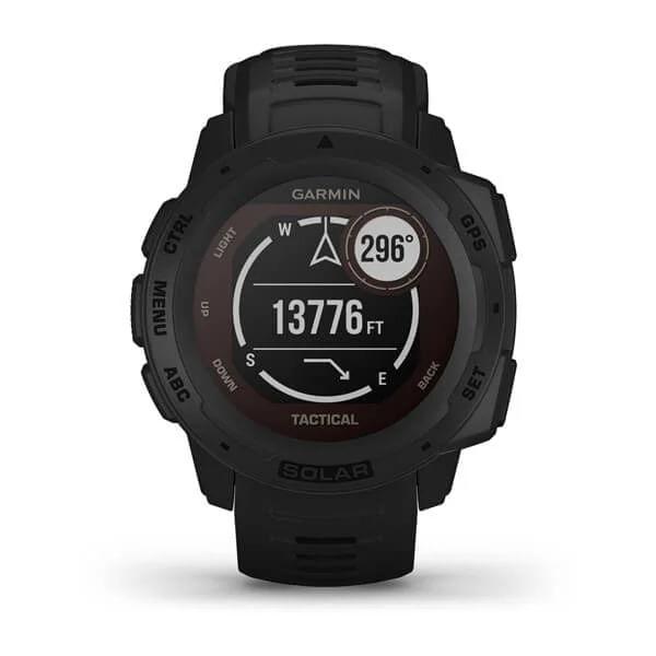 Monitor-Cardiaco-de-Pulso-com-GPS-Garmin-Instinct-Solar-Preto-WW--5-