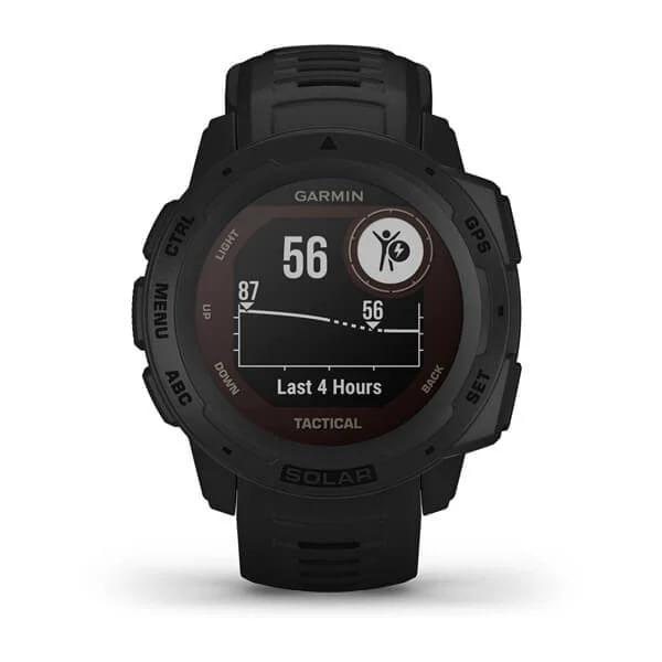 Monitor-Cardiaco-de-Pulso-com-GPS-Garmin-Instinct-Solar-Preto-WW--7-