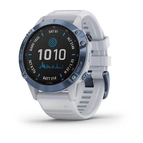 Monitor Cardíaco de Pulso com GPS Garmin Fenix 6 Solar