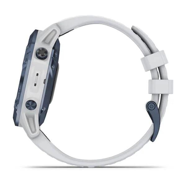 Monitor-Cardiaco-de-Pulso-com-GPS-Garmin-Fenix-6-Pro-Solar-Azul-c-pulseira-Branca---10-