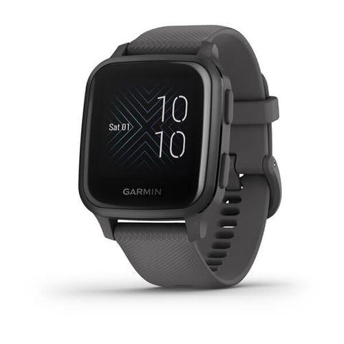 Relógio Garmin Venu SQ com Monitor Cardíaco de Pulso, Controle de Música e GPS