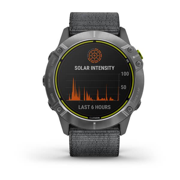 Relogio-Garmin-Enduro-Prata-Pulseira-Cinza-Loop-Monitor-Cardiaco-de-Pulso-com-GPS-