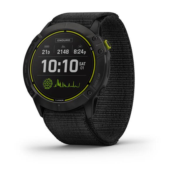 Relogio-Garmin-Enduro-Preto-Pulseira-Preta-Loop-Monitor-Cardiaco-de-Pulso-com-GPS